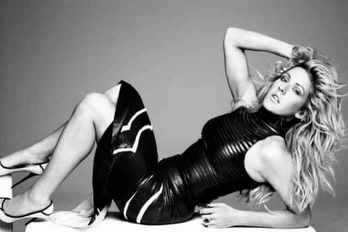 ellie-goulding-black-dress-sexy